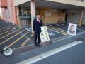 墨染駅での街頭活動
